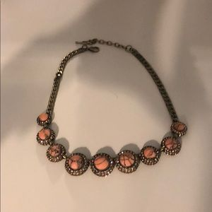 Chloe and Isabel retro pave necklace